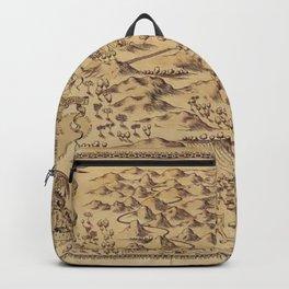 Magic Map Backpack