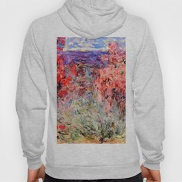 "Claude Monet ""Flowering Trees near the Coast"", 1926 Hoody"