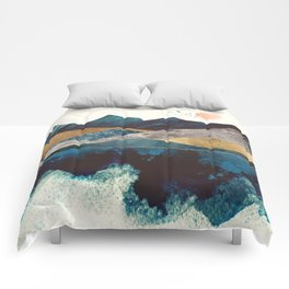 Blue Mountain Reflection Comforters