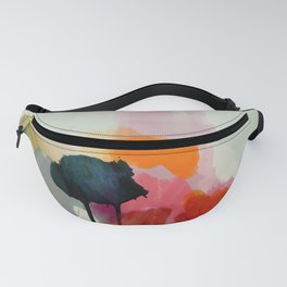 paysage abstract Fanny Pack