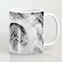 forever young Mugs featuring forever young by haroulita