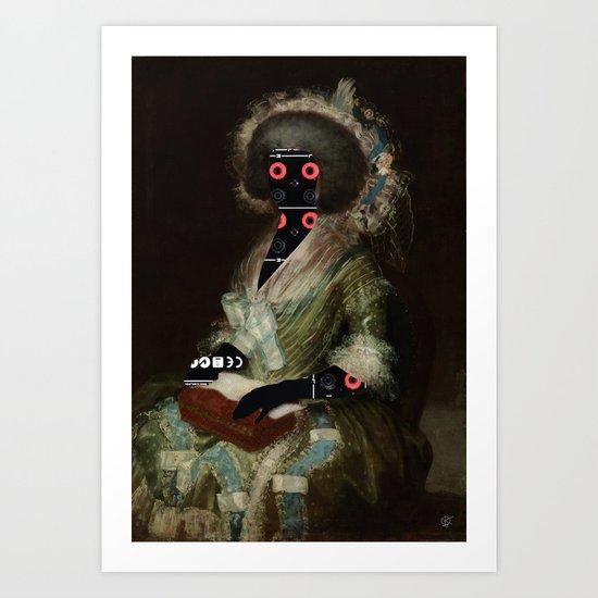 Goya´s HiFi Mama Art Print