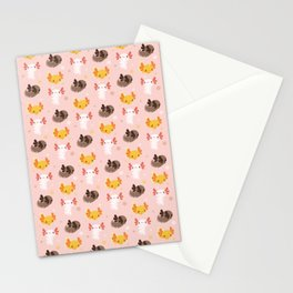 Axolotl Buddies Stationery Cards