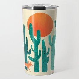 Desert fox Travel Mug