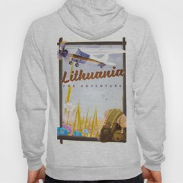 lithuania For an adventure Hoody