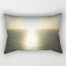 Sunrise on the Ferry Rectangular Pillow