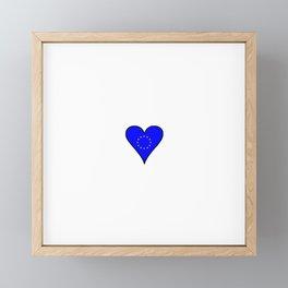Flag of Europe 5 Framed Mini Art Print