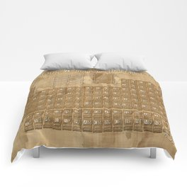 periodic table of elements Comforters