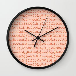 Boobs in all sizes Wall Clock
