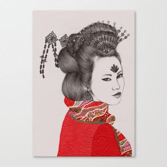 Paper Doll III Canvas Print