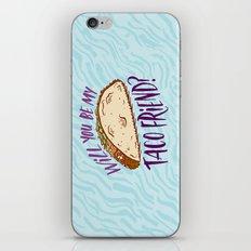 Taco Friend iPhone & iPod Skin