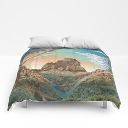 Colorado National Monument Polyscape Comforters