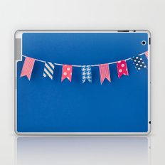 Red White and Blue Laptop & iPad Skin