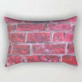 Not a Brick Wall Rectangular Pillow