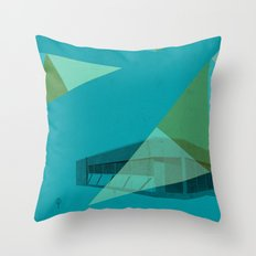 Palmerston Branch Throw Pillow