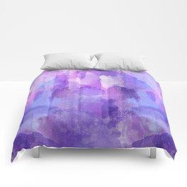 Purple Amethyst Comforters