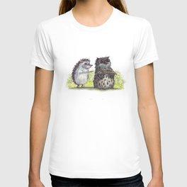 Hedgehog's here T-shirt