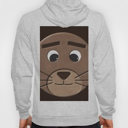 Close up lion Hoody