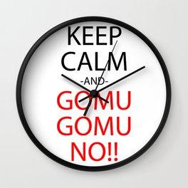 Anime Manga Inspired Shirt Wall Clock
