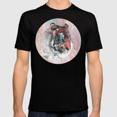 Illusive By Nature X-LARGE Mens Fitted Tee Black
