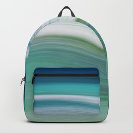 OCEAN ABSTRACT Backpack