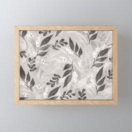 Leaves 4 Framed Mini Art Print