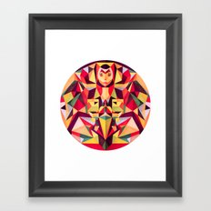 In the Middle of Something Framed Art Print