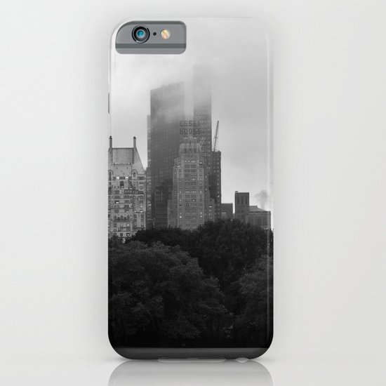 fog in city... iPhone & iPod Case