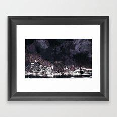 Night Life Framed Art Print