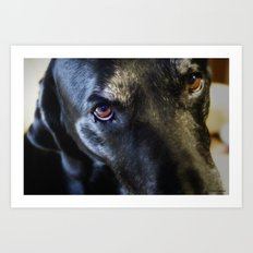 I Have Eyes For You Art Print