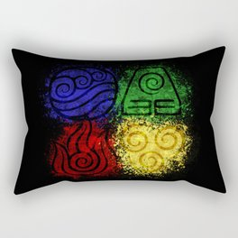 Four Elements Rectangular Pillow