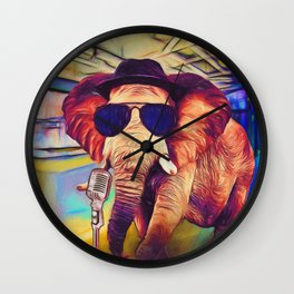 Trunk it Up Wall Clock