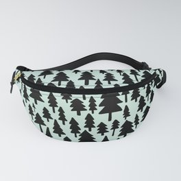 Mint x Pine Forest Fanny Pack
