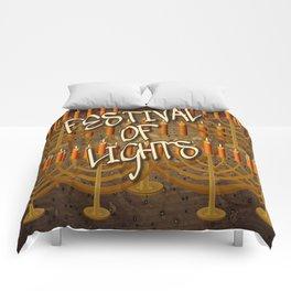 HANUKKAH/Browns Comforters