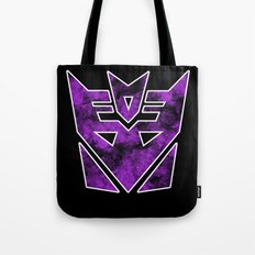 Decepticons in flames - Transformers Tote Bag