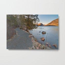Jordan Pond Trail Metal Print