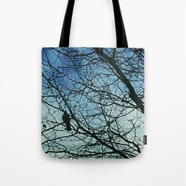 Swooping silhouettes Tote Bag