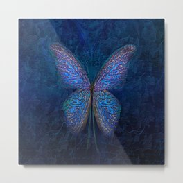 butterfly insect nature animal Metal Print