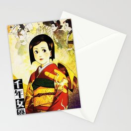 Millennium Actress Stationery Cards