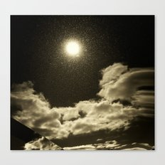 Signs in the Sky Collection - I Canvas Print