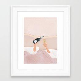 Morning Wine Framed Art Print