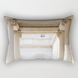 Down at City Hall Rectangular Pillow