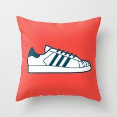 #56 Adidas Superstar Throw Pillow