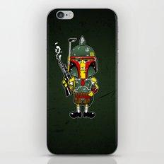 SpongeBoba Fett - Star Wars Spongebob mashup iPhone & iPod Skin