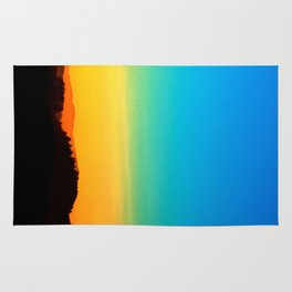 Colorful sundown scenic view | landscape photography Rug