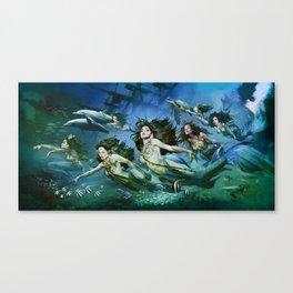 Seven Sirens Canvas Print