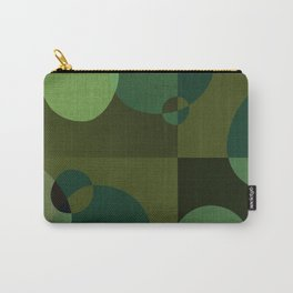 """Retro Green Super Dots"" Carry-All Pouch"