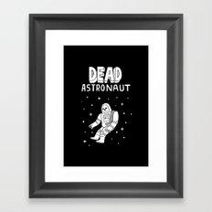 Dead Astronaut Framed Art Print