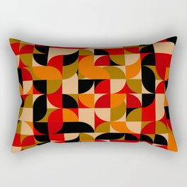 vector Design Deco, rustic colors. Rectangular Pillow