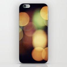 Bokeh life iPhone & iPod Skin